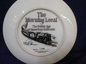 The Golden Age of American Railroads The Morning Local by Ted Xaras The Hamilton Collection