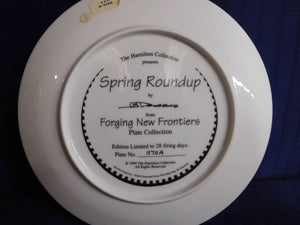 Forging New Frontiers Spring Roundup by J.B. Deneen