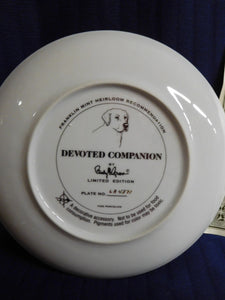 Devoted Companion by Randy McGovern The Franklin Mint