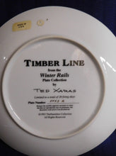 Winter Rails Plate Collection Timber Line by Ted Xaras