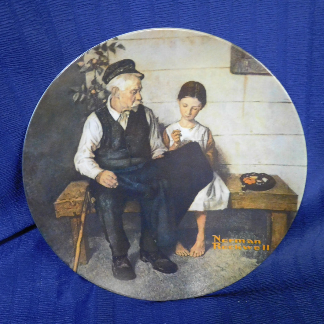 Norman Rockwell The Lighthouse Keepers Daughter Rockwell Heritage Collection