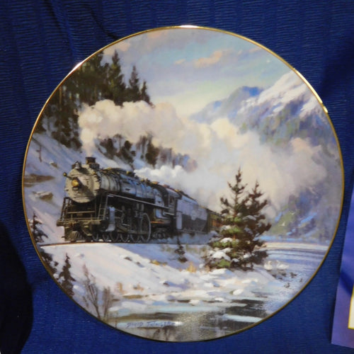 Romance of the Rails Plate Collection Western Star by David Tutwiler The Hamilton Collection