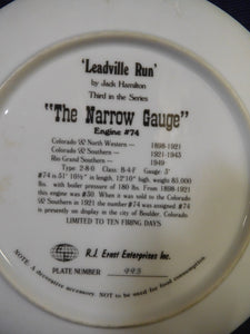 The Narrow Gauge Leadville Run by Jack Hamilton