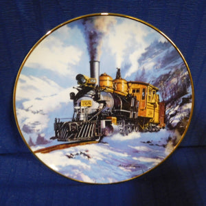 Winter on Marshall Pass by Nicolas Trudgian by Royal Doulton Franklin Mint Heirloom Recommendation