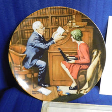 Norman Rockwell The Professor Rockwell's Heritage Collection