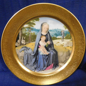 The Pickard Christmas Plate The Rest on the Flight Into Egypt by Gerard David
