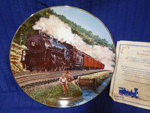Classic American Trains Plate Collection Homeward Bound by J.B. Deneen