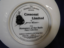 Romance of the Rails Plate Collection Crescent Limited by David Tutwiler