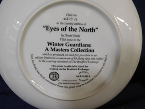 Winter Guardians A Masters Collection Eyes of the North by Daniel Smith The Bradford Exchange