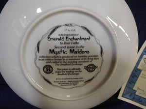 Mystic Maidens Emerald Enchantment by Ernie Cselko The Bradford Exchange