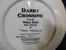 Winter Rails Plate Collection Darby Crossing by Ted Xaras The Hamilton Collection