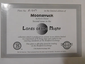 Lords of the Night Moonstruck by Kevin Daniel The Bradford Exchange
