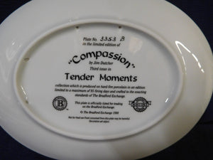 Tender Moments Compassion by Jim Dutcher The Bradford Exchange