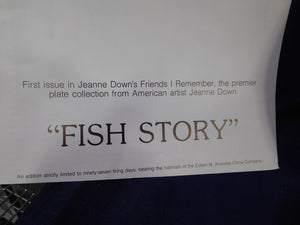 Friends I Remember Fish Story by Jeanne Down