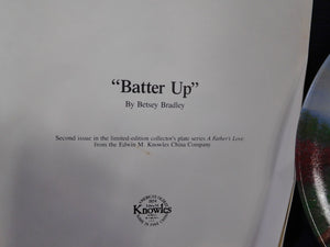 A Father's Love Batter Up by Betsey Bradley
