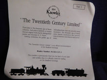 The Romantic Age of Steam The Twentieth Century Limited