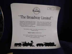The Romantic Age of Steam The Broadway Limited by R.E. Pierce