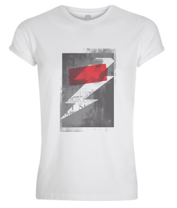 Men's Red Bolt T-shirt,Apparel-Evilglamour