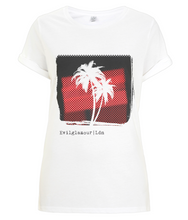 Women's Red Palm T-shirt