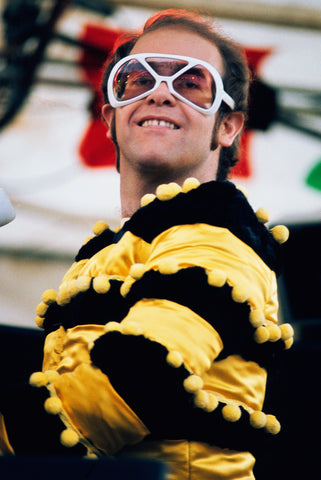 Elton John in Silhouette Sunglasses