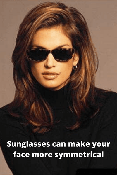 Cindy Crawford in Vintage Sunglasses