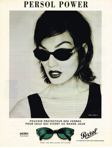 Old Persol Advert for women's sunglasses