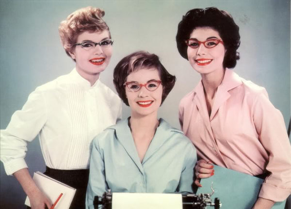 Housewives in cat eye glasses