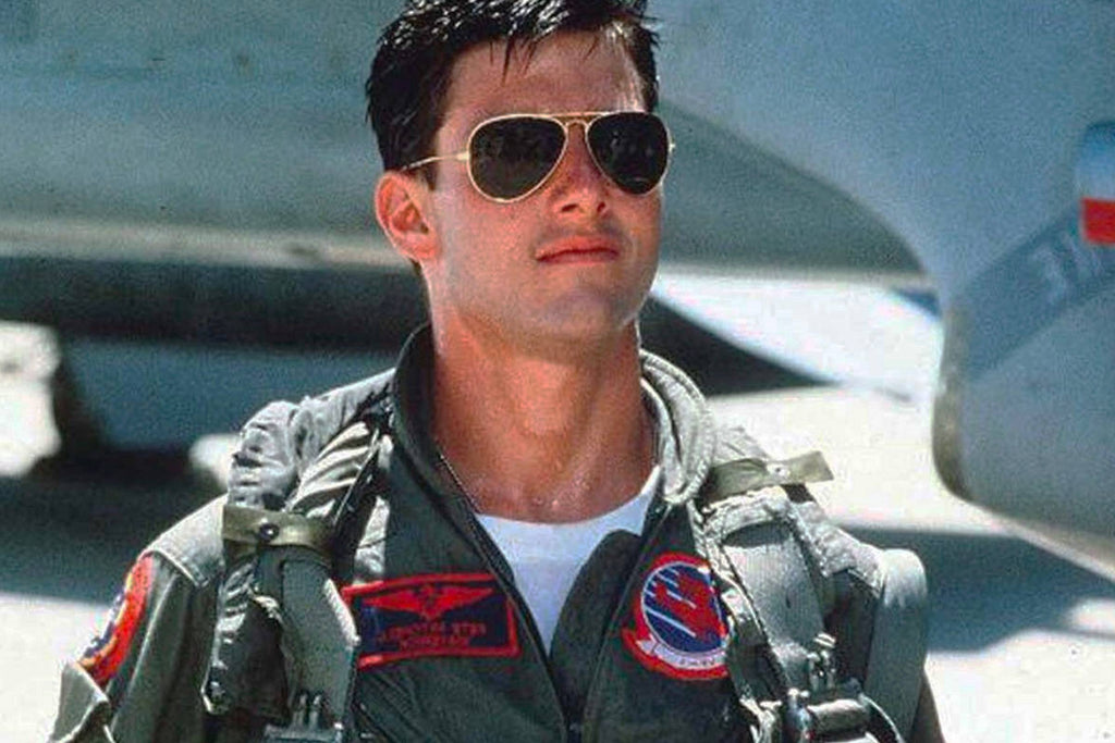 Tom Cruise Top Gun Aviator