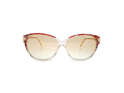 Vintage Cat Eye 80s Sunglasses Haute Couture 3420 11