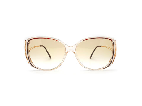 Vintage Haute Couture 3434 5 Oversized Sunglasses 80s