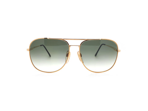 Vintage Gold Aviator Sunglasses Haute Couture 8307 1