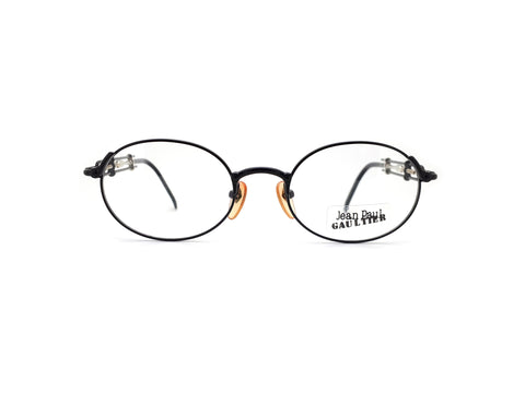 Jean Paul Gaultier 55-4178 Col 3 Vintage Round 90s Glasses Frames