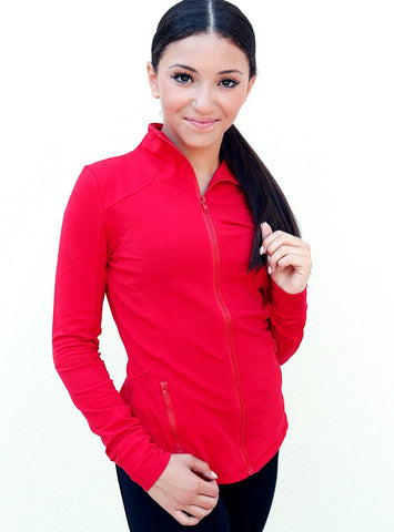 Red Lightweight Jacket
