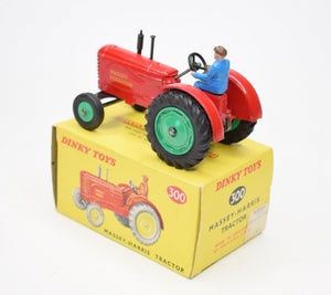 Dinky Toys 300 Massey Ferguson Virtually Mint/Boxed (Green hubs)
