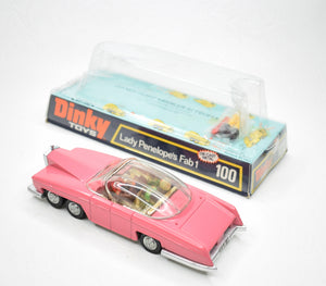 Dinky toys 100 Fab 1 Virtually Mint/Boxed 6/15.