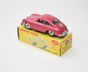 Dinky 182 Porsche 356A Coupe Very Near Mint/Boxed