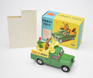 "Corgi Toys 472 Public Address Vehicle ""Vote For Corgi"". Virtually Mint/Boxed"