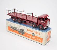 Dinky Toys 505 1st type Foden Chain Wagon Very Near Mint/Boxed.