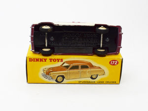Dinky Toys 172 Studebaker Land Cruiser Virtually Mint/Boxed.