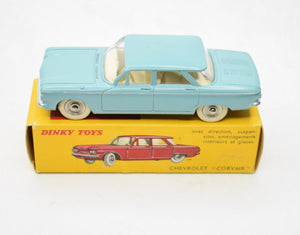 French Dinky Toys 552 Chevrolet Corvair Mint/Boxed (Grey/Blue) Reserved.