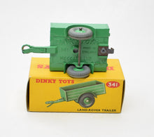 Dinky Toys 341 Land-Rover Trailer Virtually Mint/Boxed (C.C)
