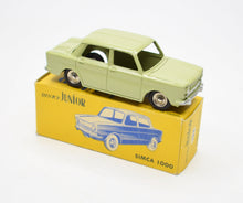 Dinky Junior 104 Simca 1000 Virtually Mint/Boxed.
