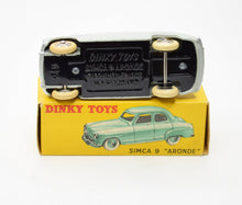 French Dinky Toys 24u  Simca 9 'Aronde' Very Near Mint/Boxed