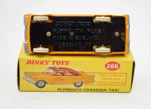 Dinky toys 266 Plymouth Canadian Taxi Very Near Mint/Boxed.