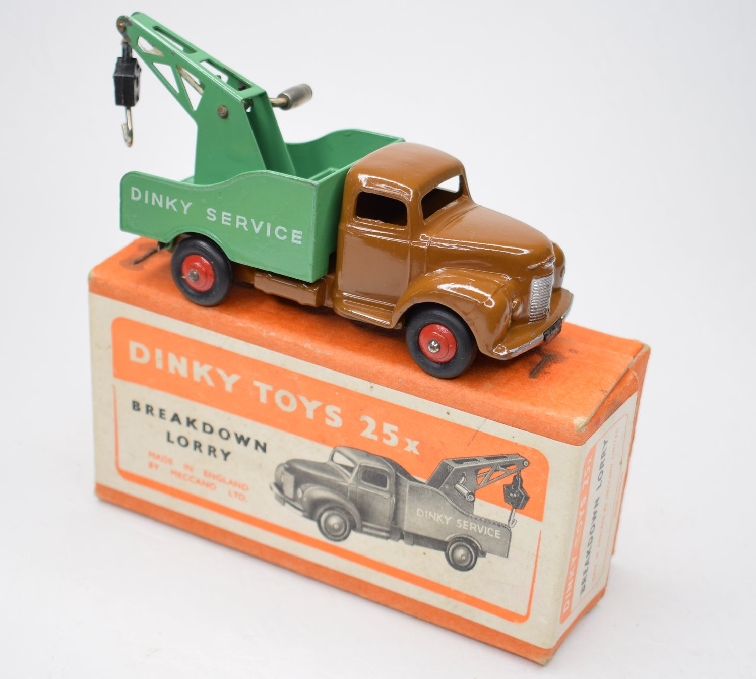 Dinky toys 25x Breakdown Lorry Very Near Mint/Boxed.