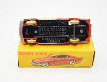 French Dinky toys 24Y Studebaker Commander Virtually Mint/Boxed (Cream side panels)