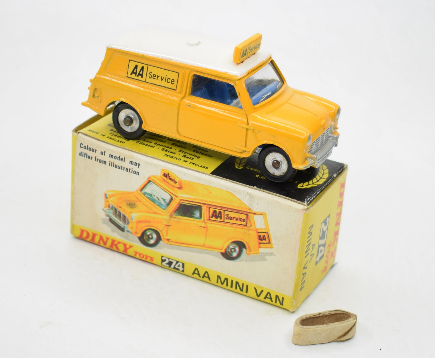 Dinky Toys 274 A.A Minivan Very Near Mint/Boxed
