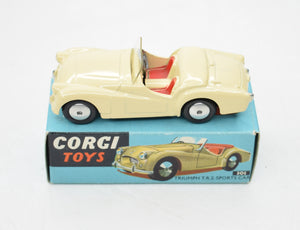 Corgi Toys 301 Triumph T.R.2 Virtually Mint/Boxed.