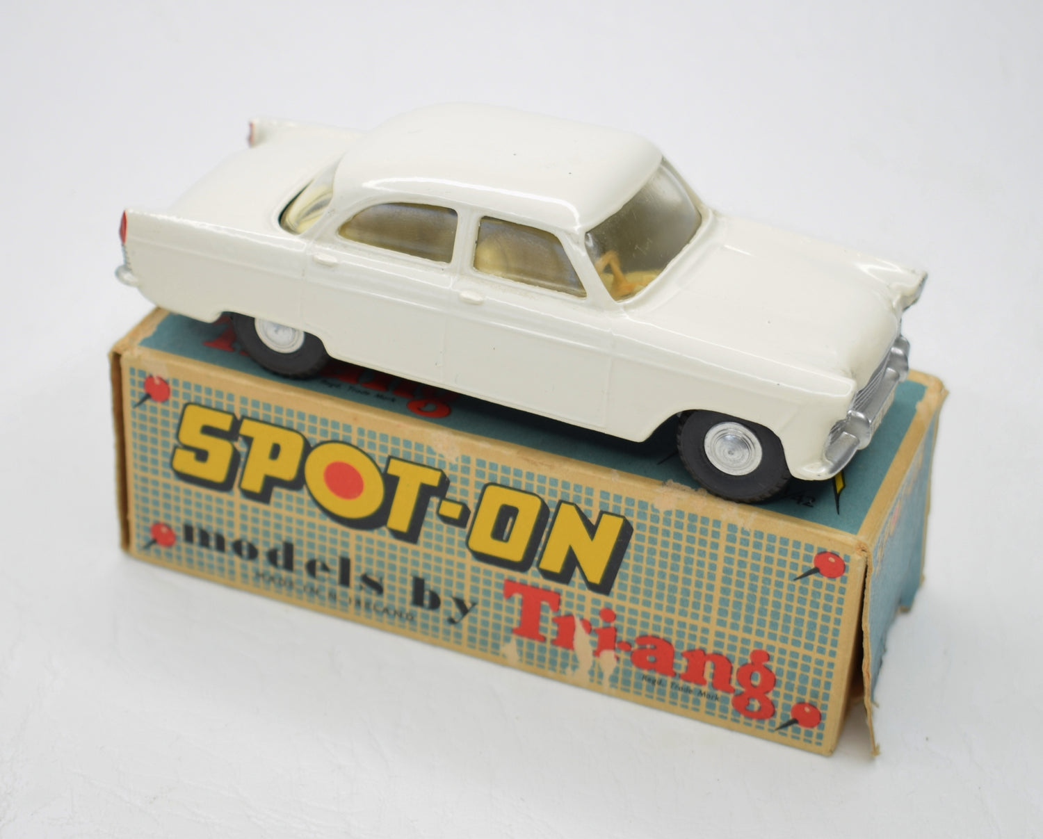 Spot-on 100 Ford Zodiac Very Near Mint/Boxed (Ivory).