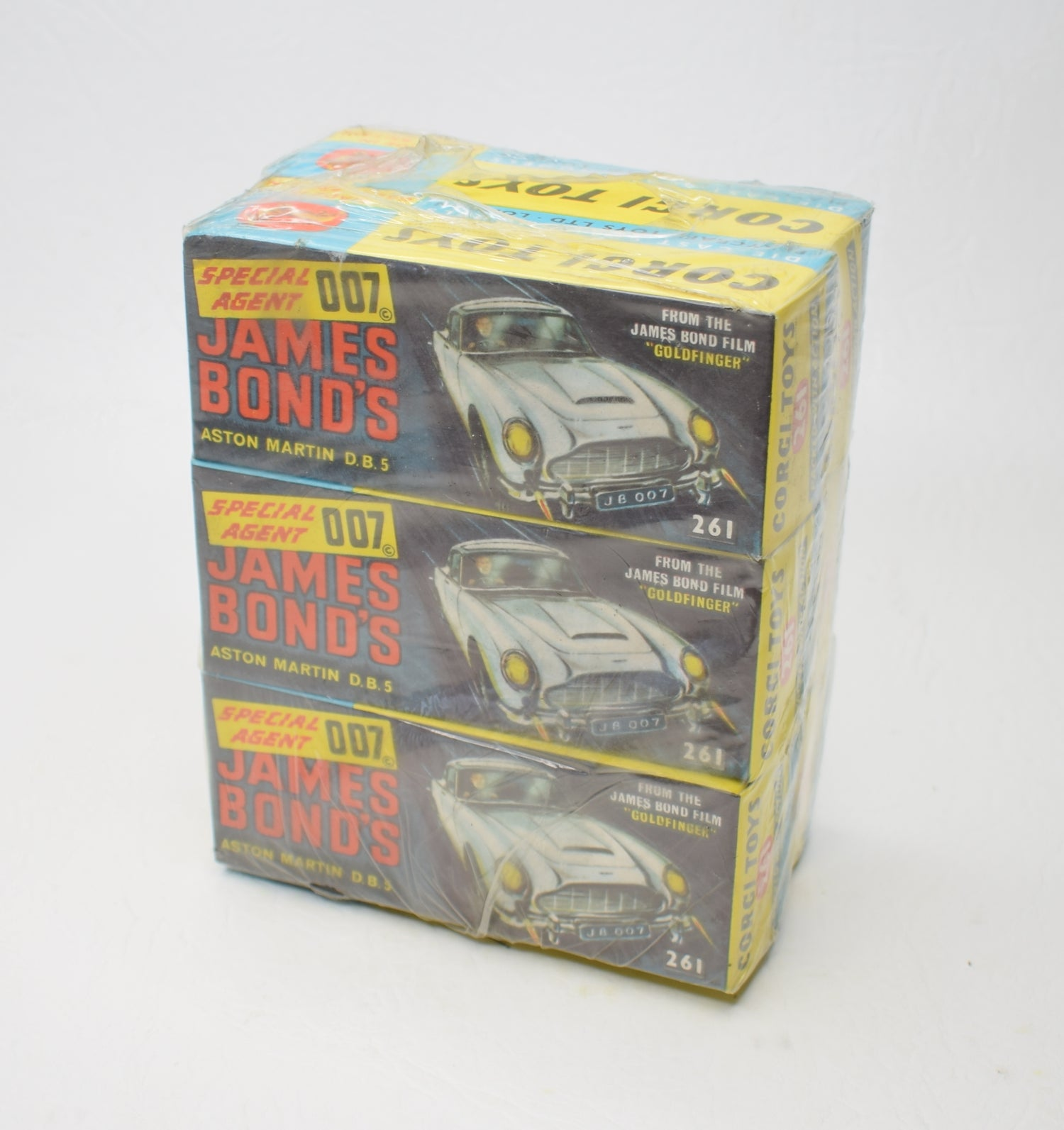 Corgi toys 261 DB5 Trade Wrap of 6 (Old Shop Stock from Ripon North Yorkshire) 2 of 2